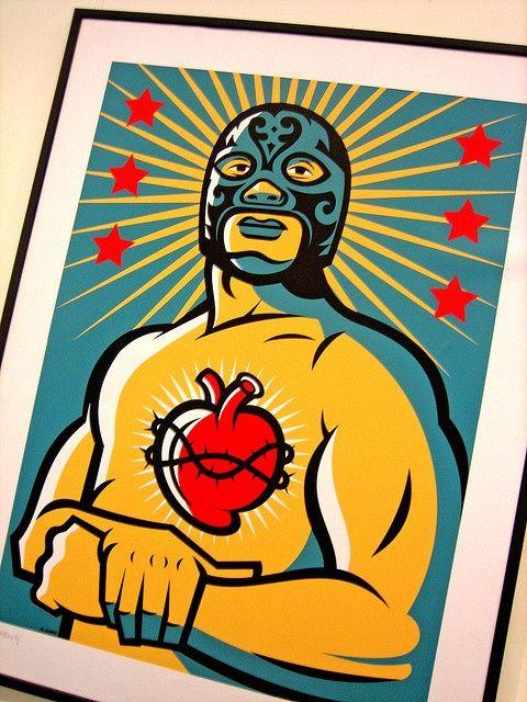 Amo el corazón del luchador