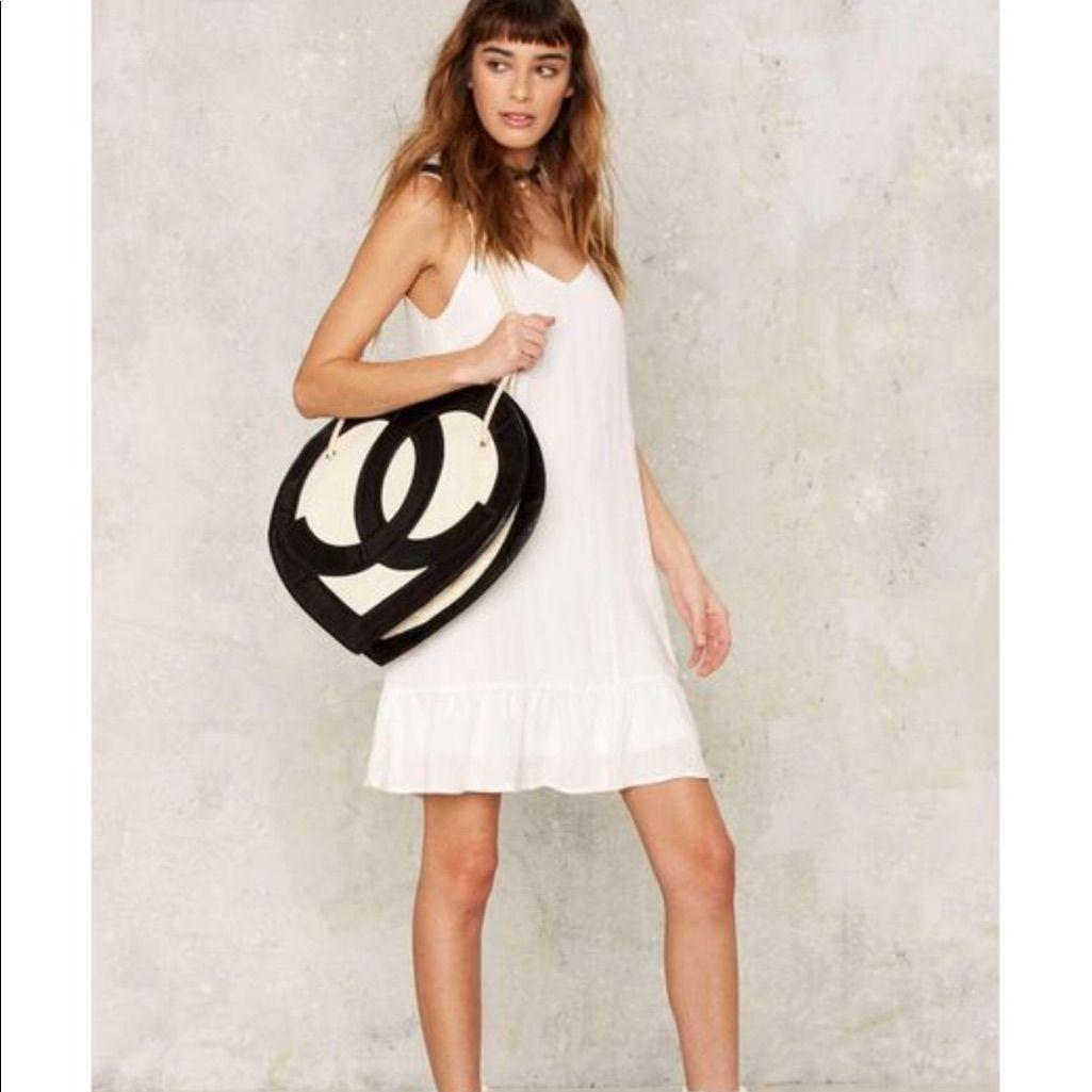 Nastygal very j white cakewalk dress sz l products