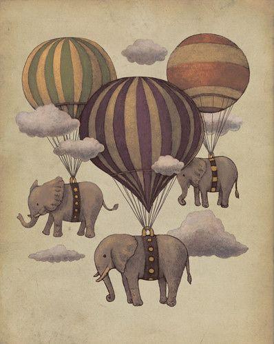 air balloon illustration - Buscar con Google
