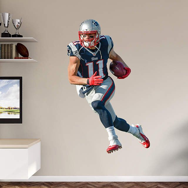 Julian Edelman Gameball Week 1 Win Nfl New England Patriots Patriots Julian Edelman New England Patriots