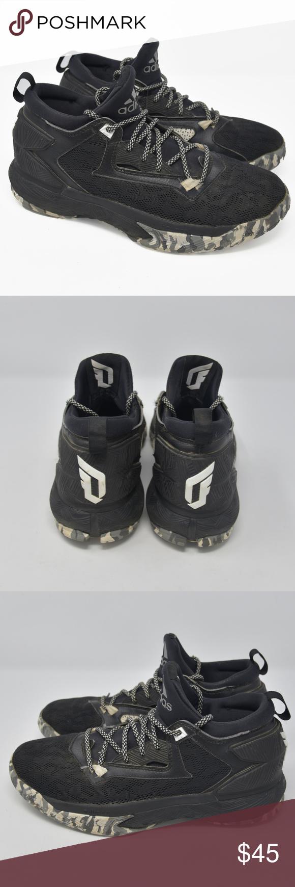 fc62d3f152652 Adidas D Lillard 2 Bounce Sz 8.5 Basketball Shoes Adidas D Lillard 2 Bounce  Men s Sz