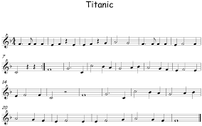Titanic Canciones Flauta Partitura Flauta Partituras