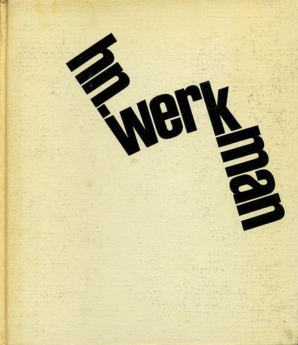 H.N. Werkman by Joe Kral, via Flickr