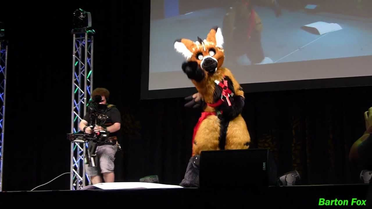 Anthrocon 2012 - Fursuit Dance Competition - Kotto - YouTube