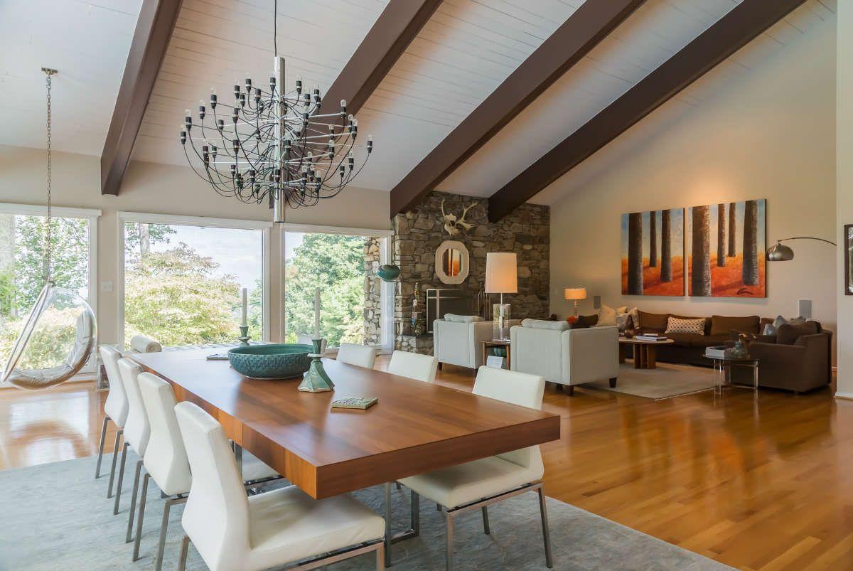 Asheville NC Interior Design - Modern Mountain House ...