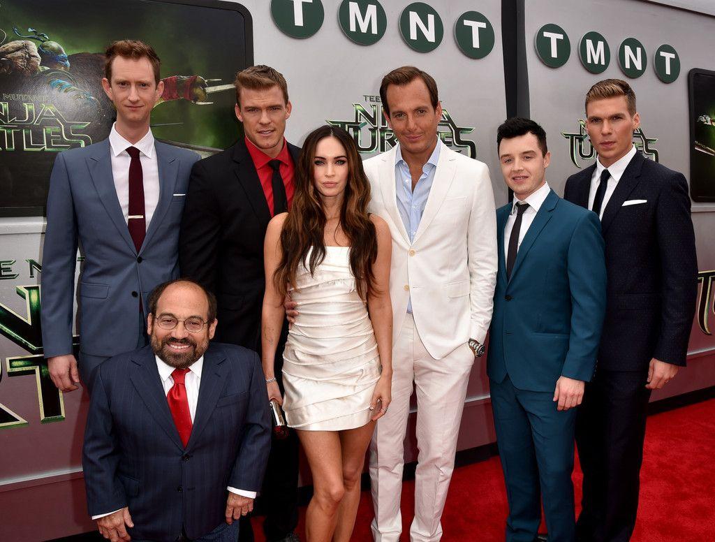 Cast of Teenage Mutant Ninja Turtles ...