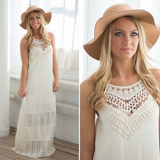Boho babes, this is the one for you! Our gorgeous new maxi is sure to turn heads. _______________________ Boho Haven Maxi $45