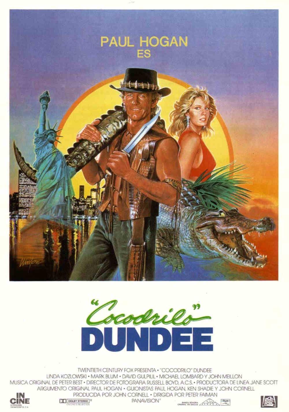 Pin De Beatriz Lizalde En Crocodile Dundee Is The Man Cocodrilo Dundee Dundee Carteles De Peliculas Famosas