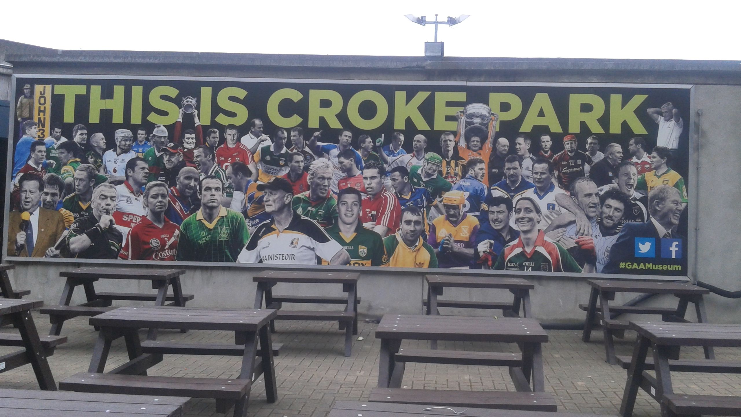 All The Counties Represented On New Artwork Outside The