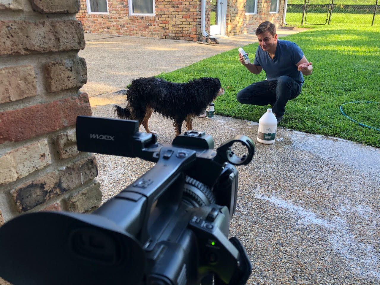 Behind The Scenes With Zak George And Zogics Pet On The
