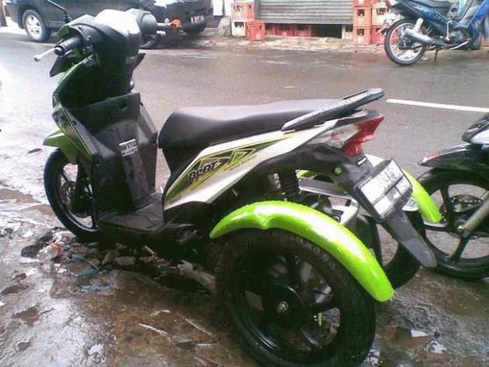 kumpulan modifikasi motor roda 3