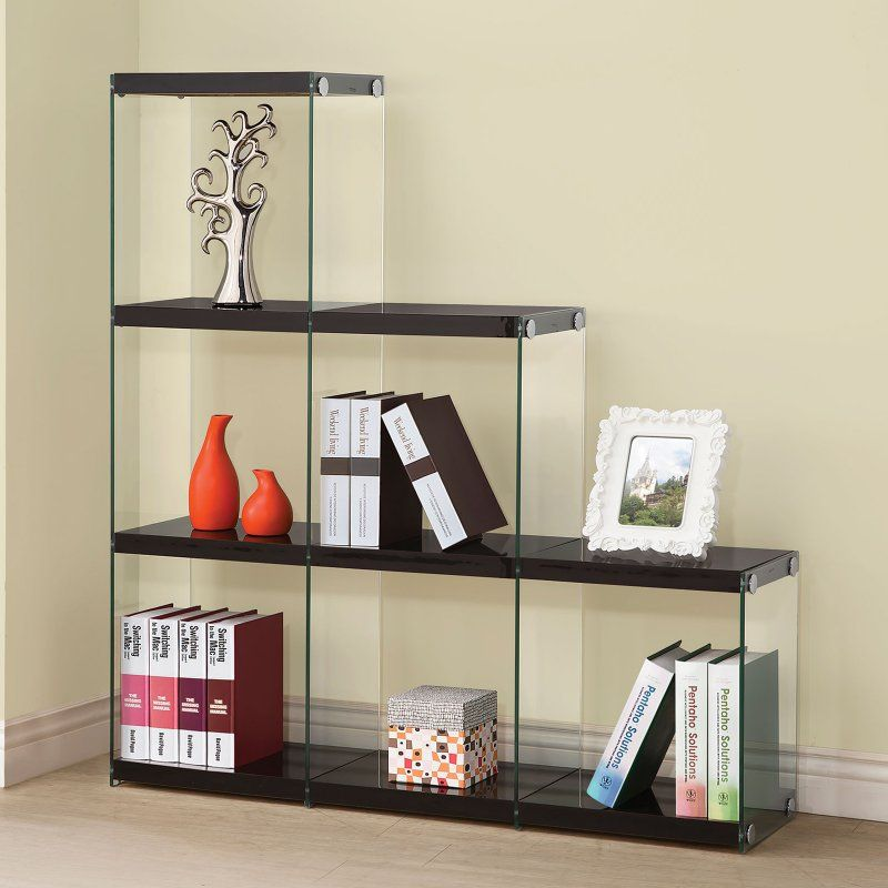 Coaster Furniture Glass Staircase Bookcase   801260