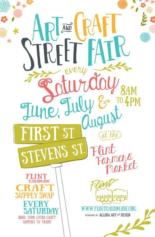 Fh Art Craft Street Fair Poster 500 Posters Event Poster