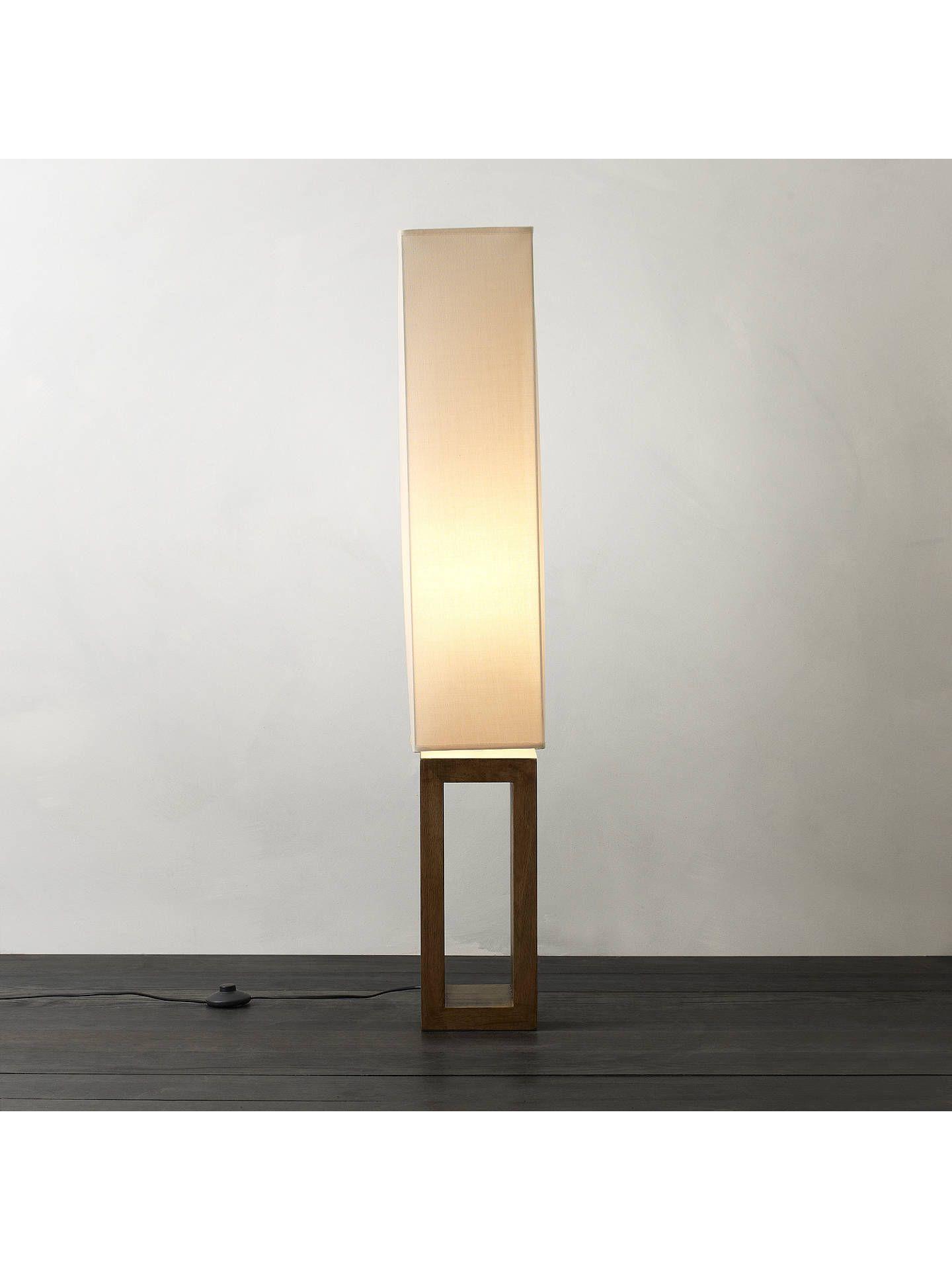 John Lewis & Partners Echo Wood Floor Lamp Wood floor
