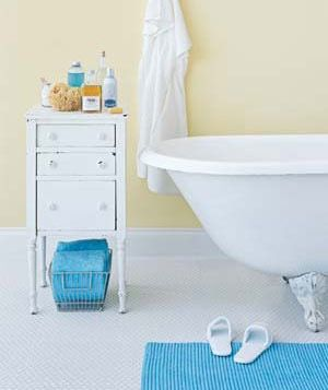 Bringing Furniture Into the Bathroom | Apartment Therapy