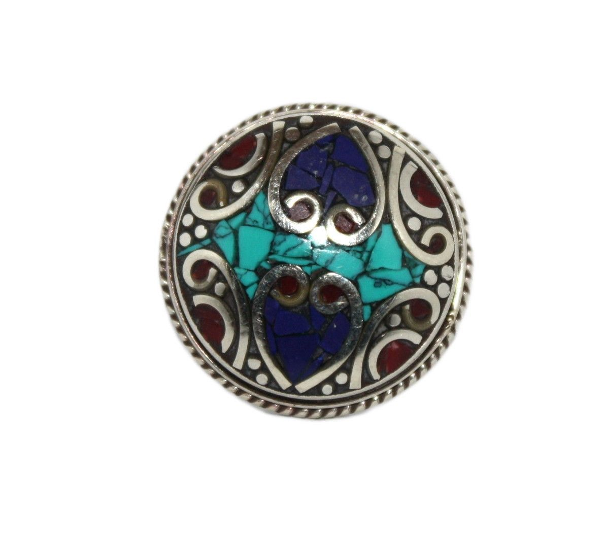 Adjustable Lapis ring