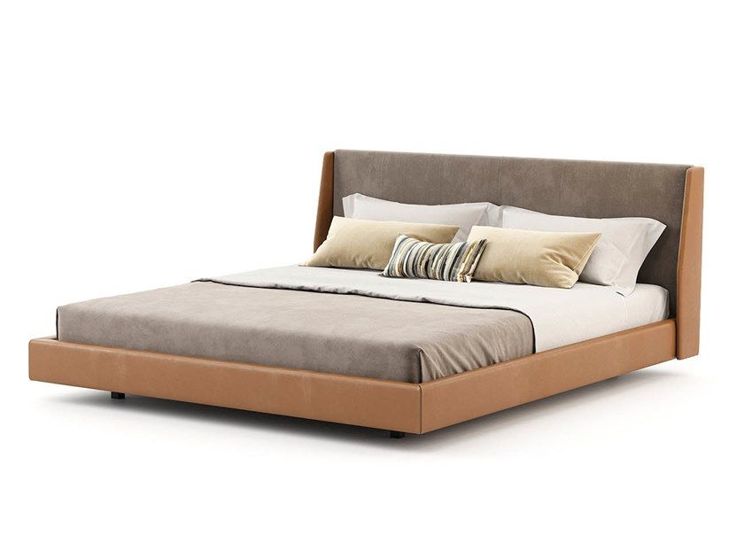 Double Bed With Upholstered Headboard Double Bed Designs Bed Bedroom Bed Design