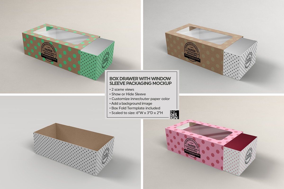 Download Box Window Sleeve Packaging Mockup Packaging Mockup Sleeve Packaging Free Packaging Mockup