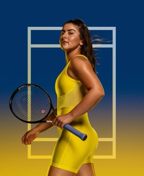 Us Open 2017 Fashion Overview Haute Couture Designers Musicians In Charge Of Wta Styles Women S Tennis Blog In 2020 Nike Tennis Dress Tennis Dress Womens Tennis Dress