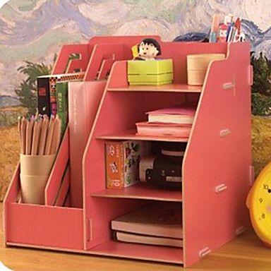 Diy modern solid multifuncional organizador de escritorio organizadores escritorios y cart n - Organizador de escritorio ...