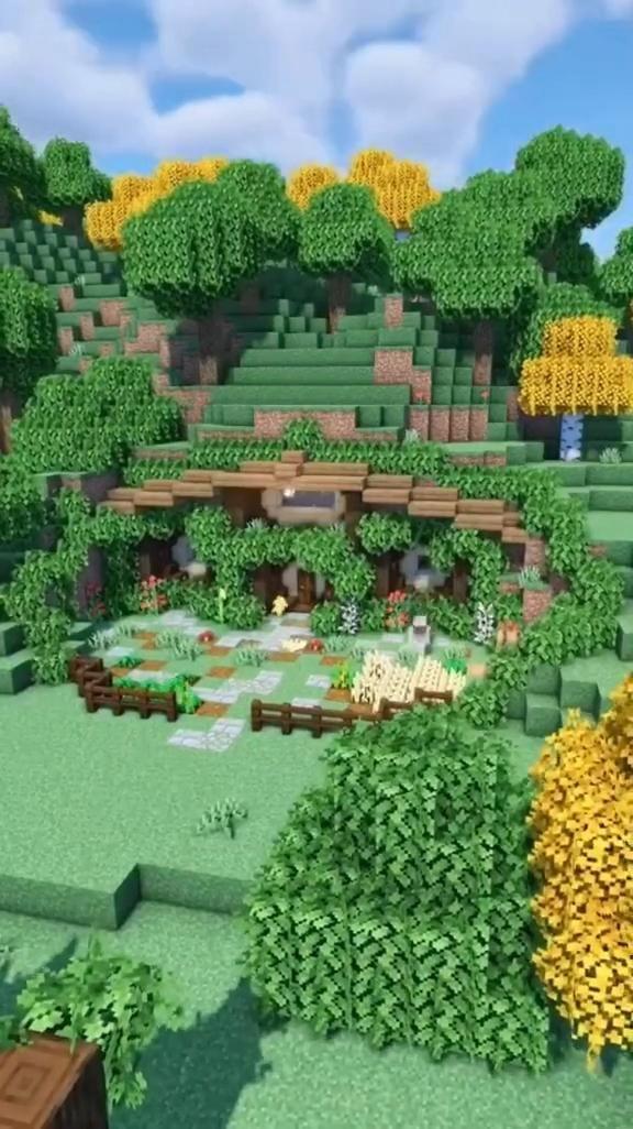 Minecraft Hobbit Hole