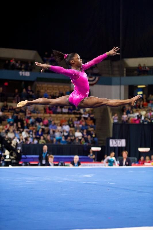 Pin By Abbey Dungan On Gymnastics Simone Biles Floor Workouts Gymnastics Posters