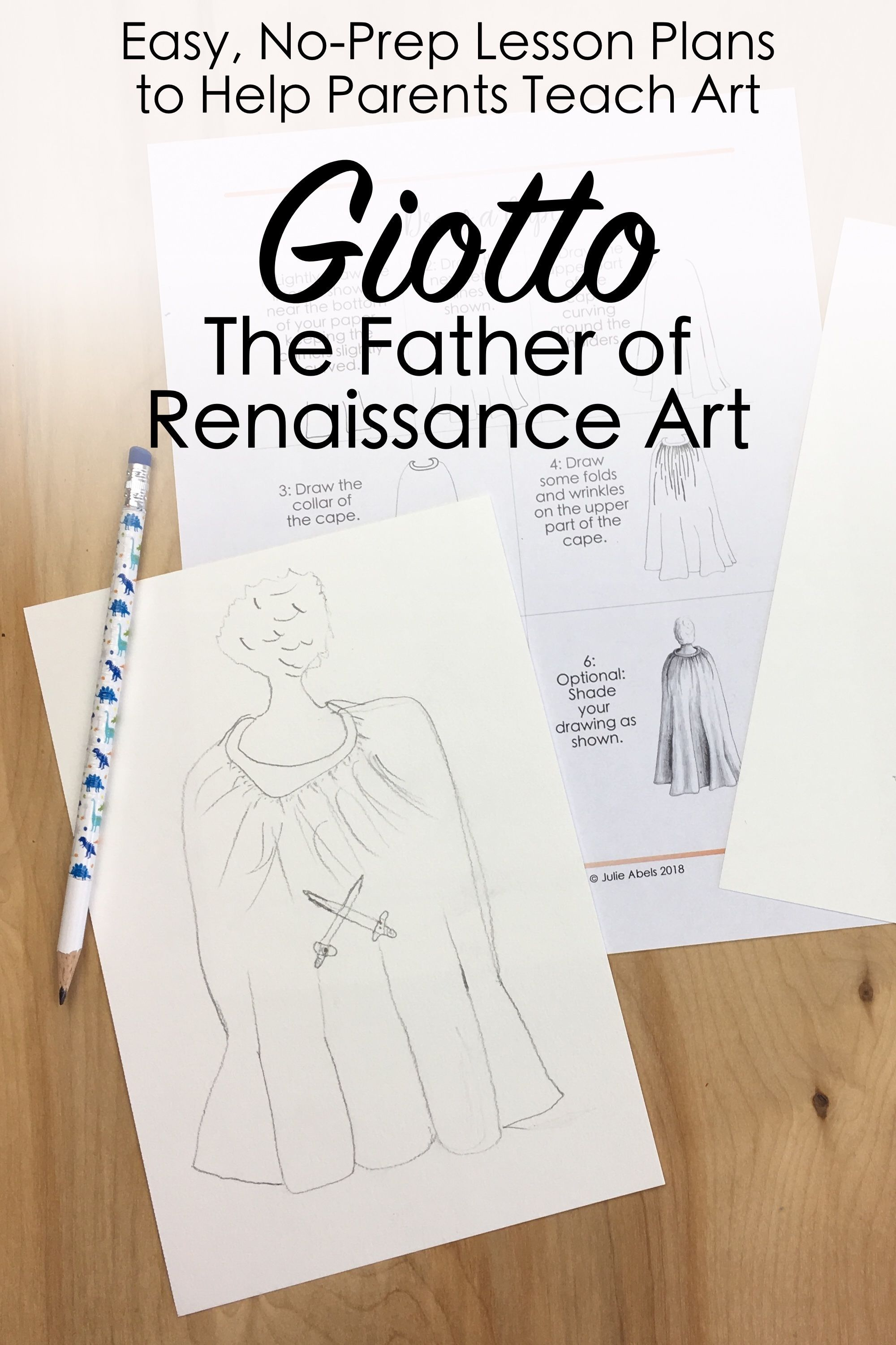 Giotto For Kids Learn About The Father Of Renaissance Art While
