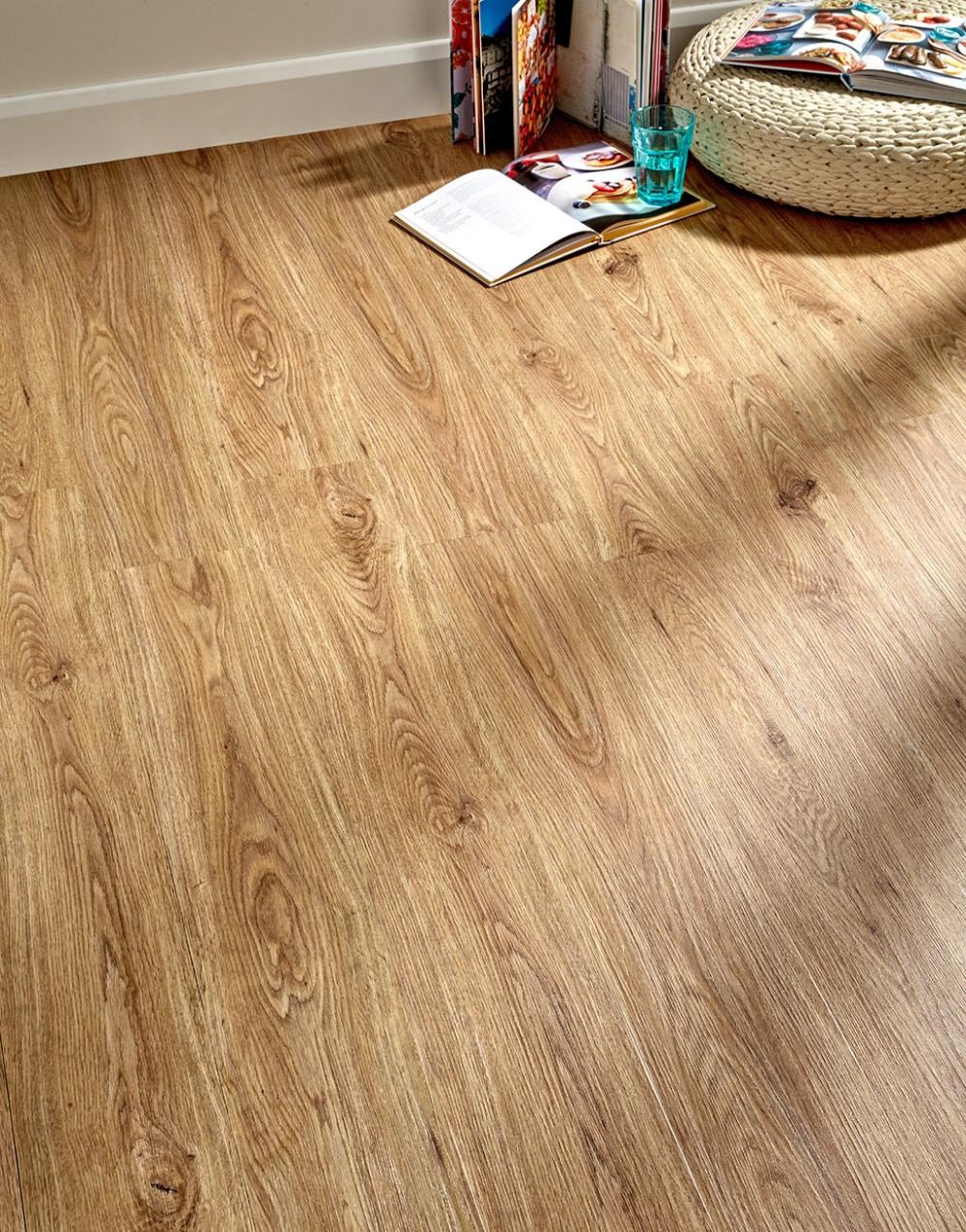 Milano Click Natural Oak LVT Flooring Vinyl flooring