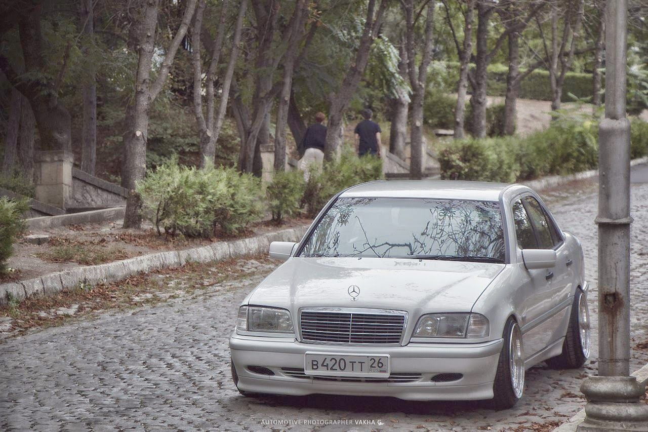 Mercedes benz w202 stance style funhtml