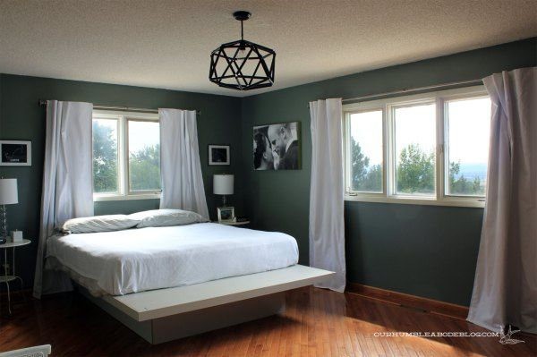 Blue Sage Green Bedroom Walls Restoration Hardware S Color Matched To Glidden Duo
