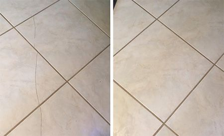 Chipped Or Cracked Tiles Can Happen And It S Nice To Know That There Are Ways To Fix These Problems If You Need T Cracked Tile Repair Tile Repair Repair Floors