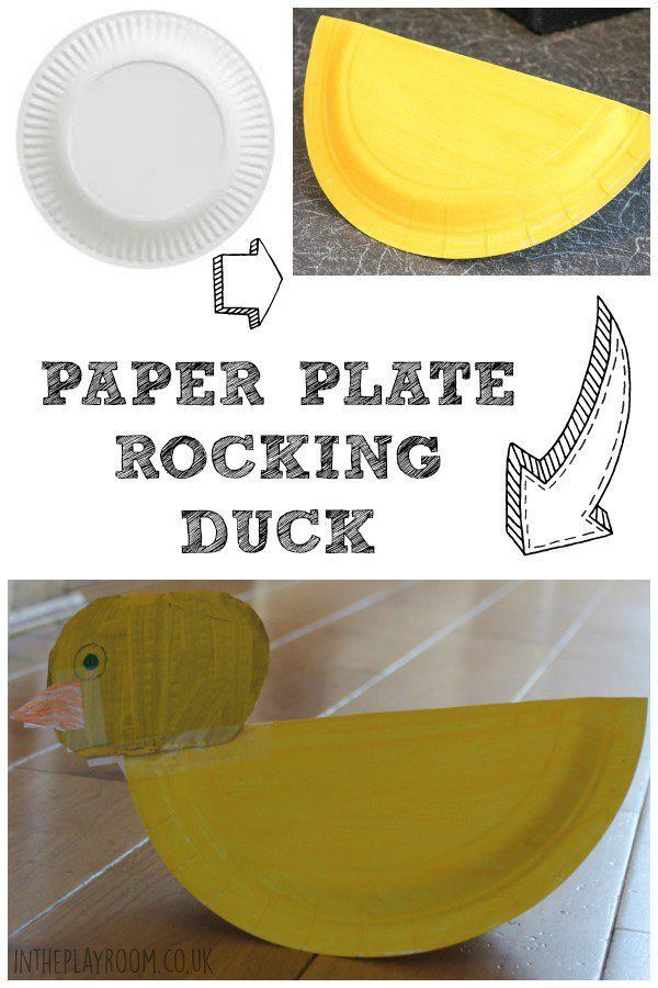 Baa is for Battah: Paper Plate Duck | Duck crafts, Craft and ...