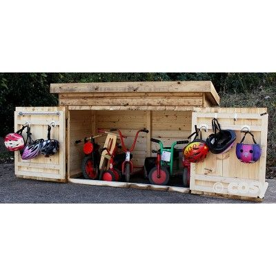 TRIKE STORAGE SHED   Sheds And Outdoor Storage   Early Years   Cosy Direct