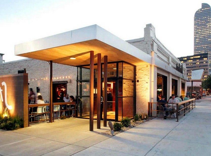 Modern Classic Restaurant Exterior Design Trendecors