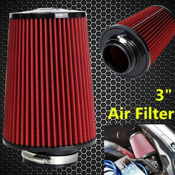 3inch Car Air Filter High Flow Cold Air Intake Filter