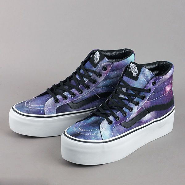 2ea5add47b1a Vans Sk8-Hi Platform Cosmic Galaxy US Shoe Size (Women s) 8.5 ...