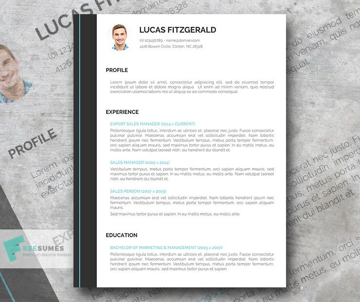 Free Perfect Resume Template for Go-Getters Perfect resume, Free - free perfect resume