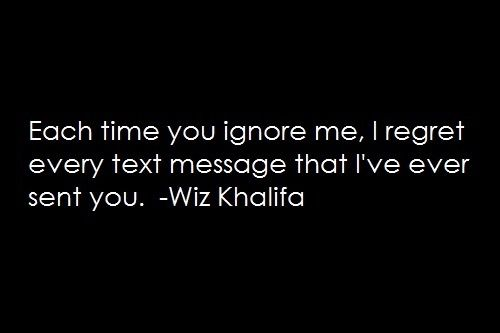 quotes about someone not replying