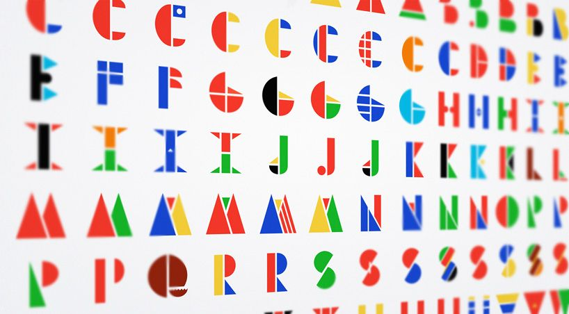 Multinational Typeface Morphs Countries Flags To Create Letters Designboom 01 Jpg 818 452 Pixels Brief Vlaggen Lettertypen