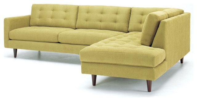 mid century l shaped sofa google search without tufting please - Mid Century Modern Couches