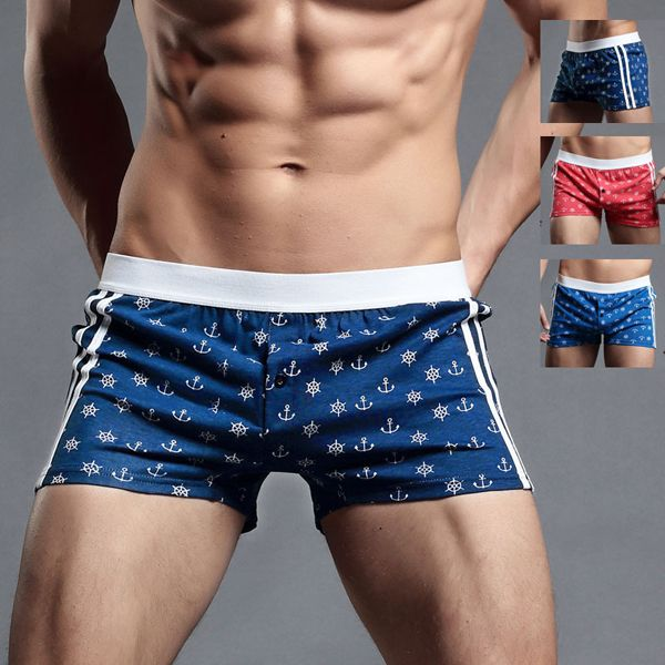 9c6a31a9772 Fashion SUPERBODY Arrow Pants Home Sport Printing Sexy Boxers Shorts for Men  - NewChic Mobile.