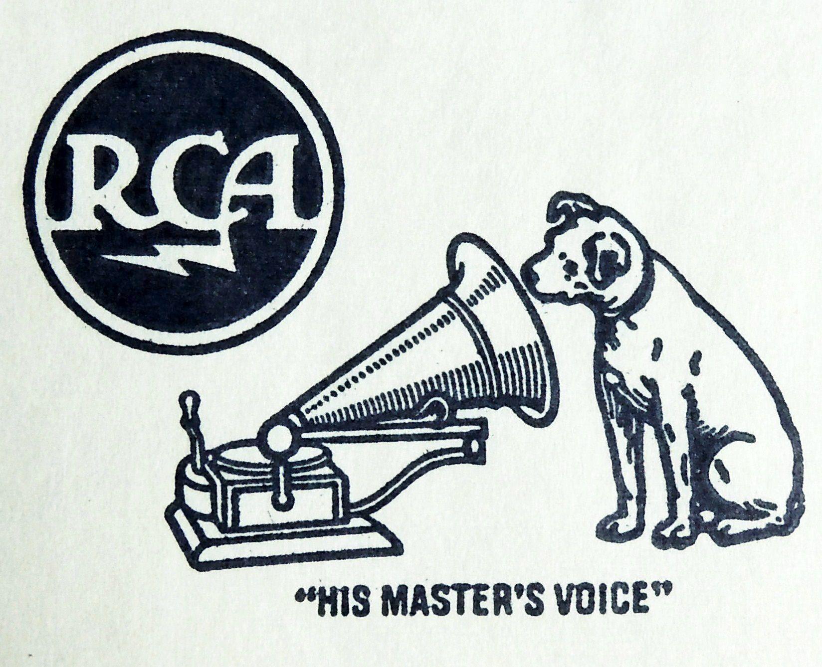 "RCA logo circa 1950s stamped on ""Belafonte at Carnagie Hall ..."