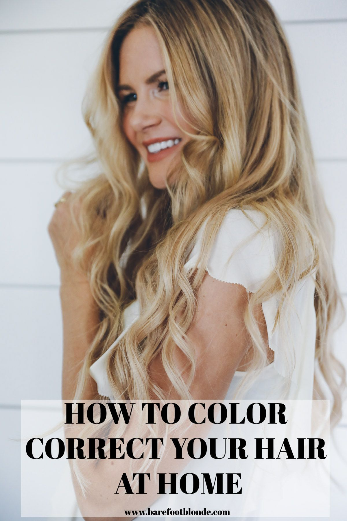 How to color correct u maintain your hair color at home barefoot