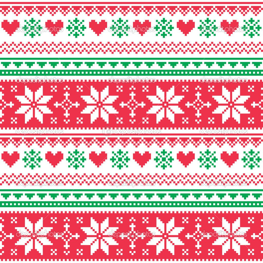 Christmas Knitting Background : Nordic christmas pattern szukaj w google cross stitch