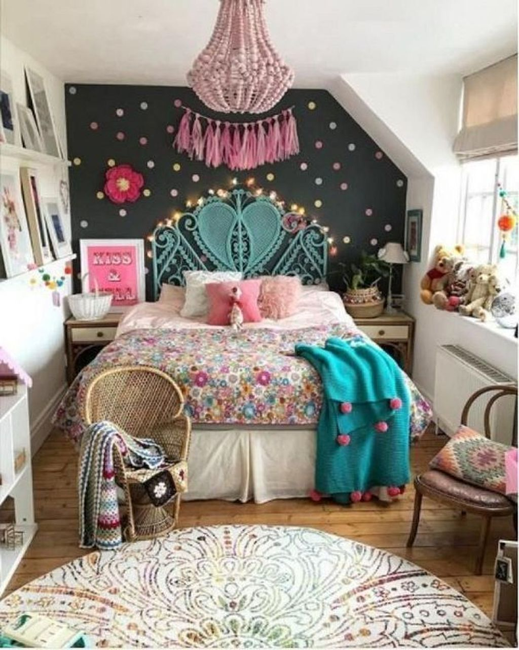 39 Elegant Kids Bedroom Design Ideas For Little Girls #kidbedrooms