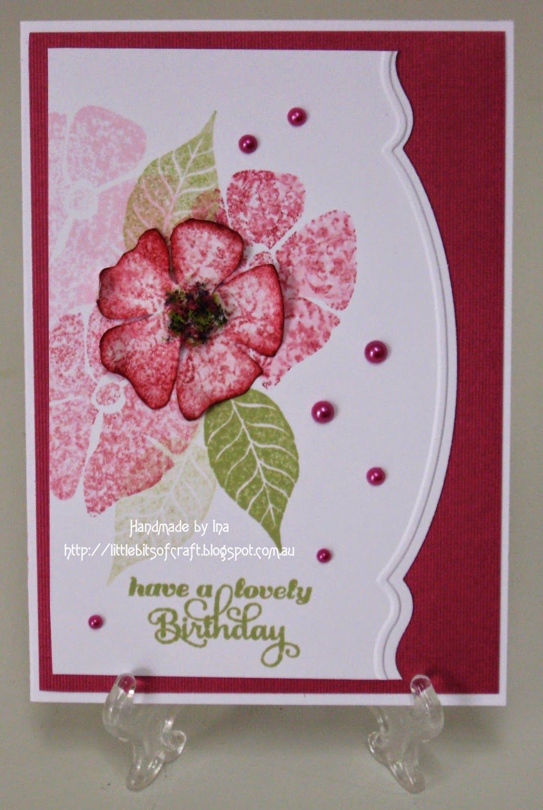 Card By Ina Change Sentiment Love The Design More Cards