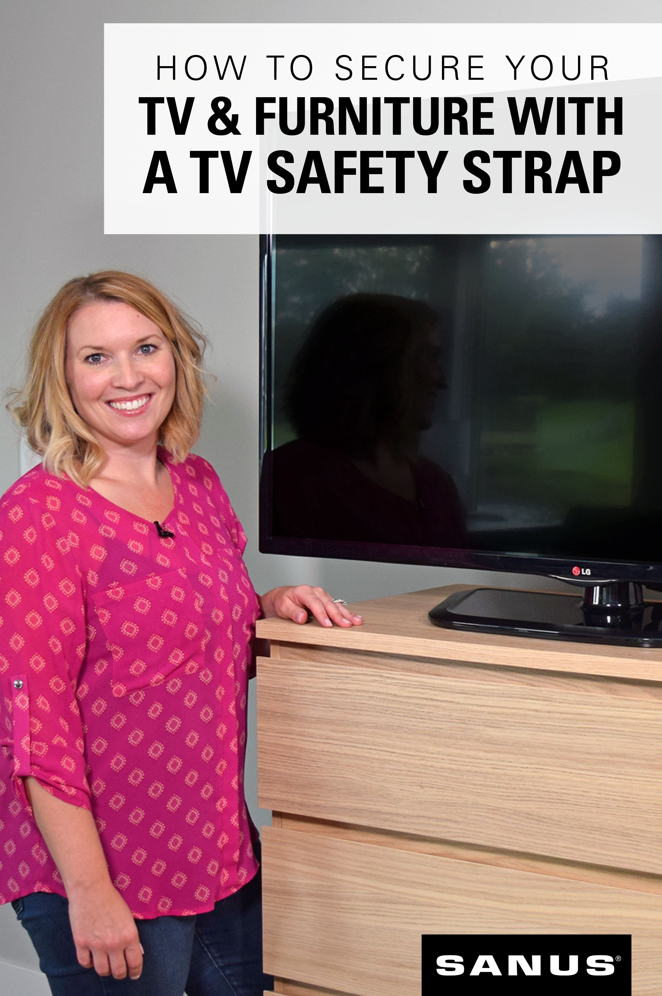How to secure your tv and furniture with a tv safety strap