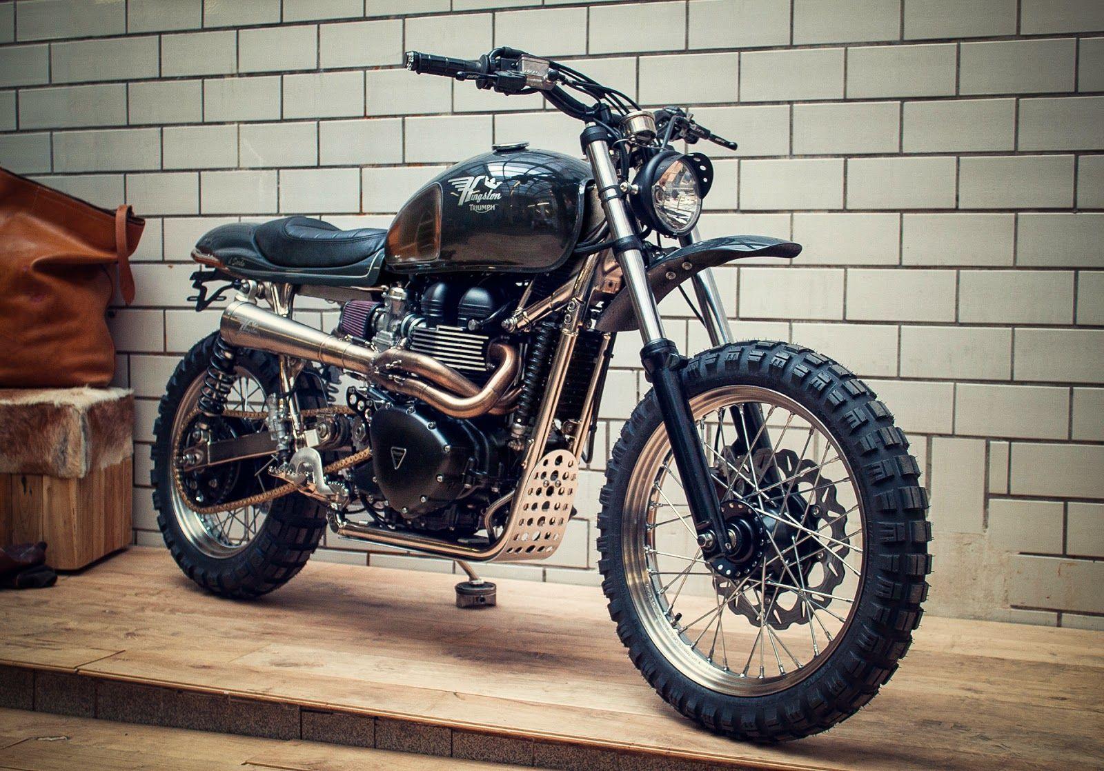 Triumph Scrambler Il Sardo By Kingston Custom Motorcycles