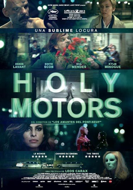 Holy Motors - Crítica | Film, music & books | Movie posters