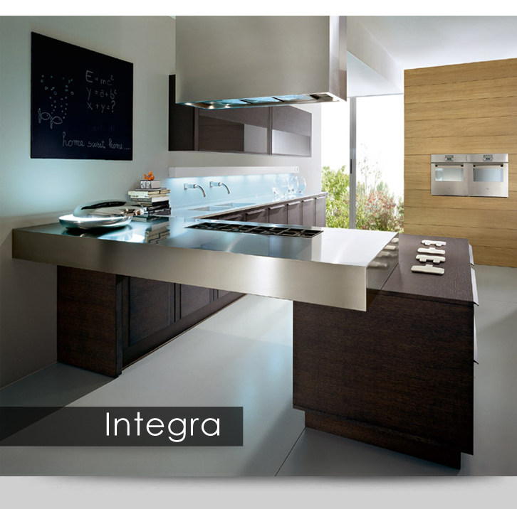 European Kitchen Design Pictures: Integra Is Available In 9 Colors Of Rift Cut Oak (natural